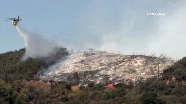 Rustic Canyon Fire 100 Percent Contained