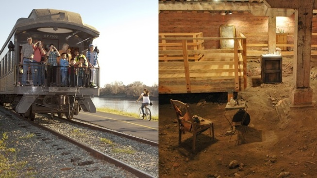 Sactown Steam Trains and Subterranean Journeys