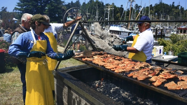 July Flavor: World's Largest Salmon BBQ