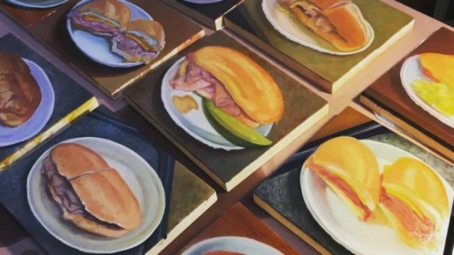 Philippe's 'Sandwiches & Carvers' Exhibit