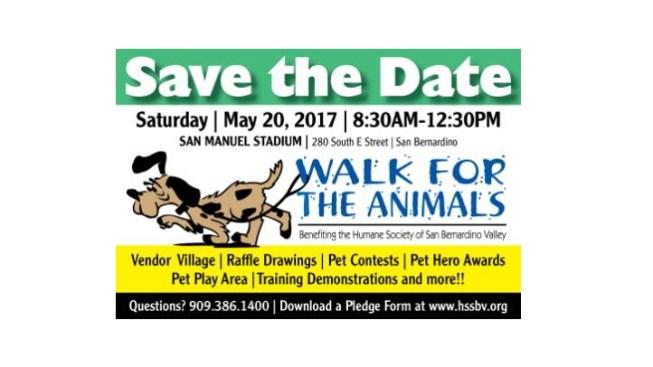 NBC4's Tony Shin to Host The Humane Society of San Bernardino Valley Walk for the Animals on May 20