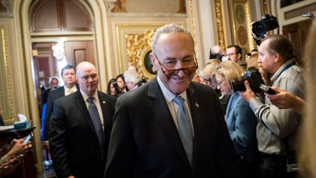Schumer Takes Back Wall Offer in New Immigration Push, Trump Fires Back