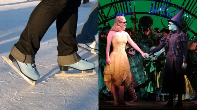 'Wicked' Wednesdays Skate into Pershing Square