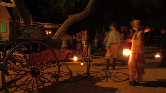 Ghosts of April: Silver City Night Walks Open
