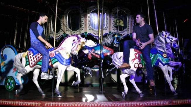 This New Play Is Performed on a Carousel