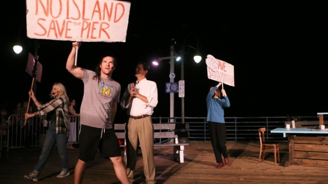 See a Play About Santa Monica Pier, on Santa Monica Pier