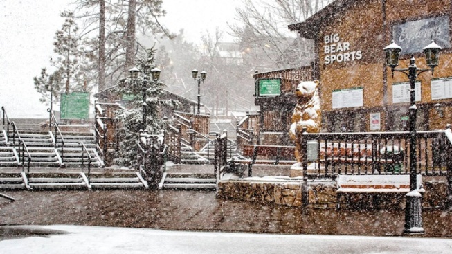 Big Bear Brrr: Snow's Not Done