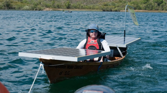 Sunlight, Ingenuity Power Students' Solar Cup Boats