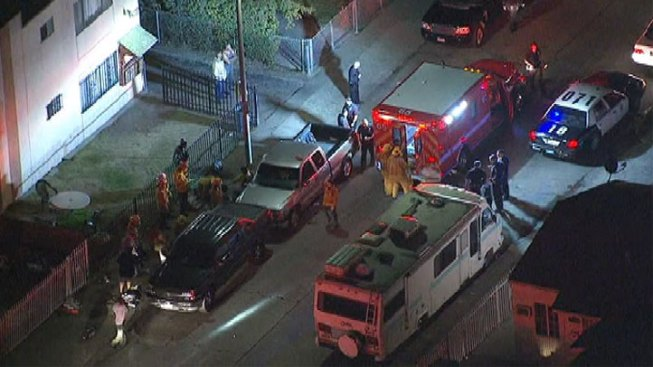 Four People Shot in South LA