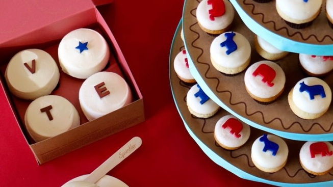 Sprinkles Has Your Election Cupcakes