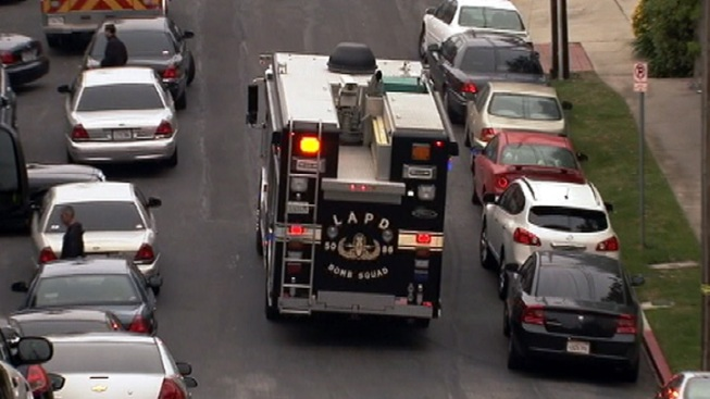 Shots Fired During West LA Standoff