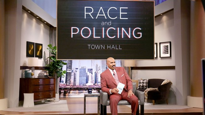 Steve Harvey Details His Talk With Sons About Police Encounters