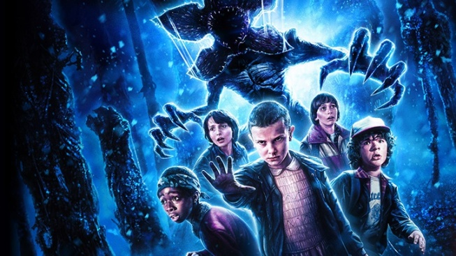 'Stranger Things' + Halloween Horror Nights Art Peek