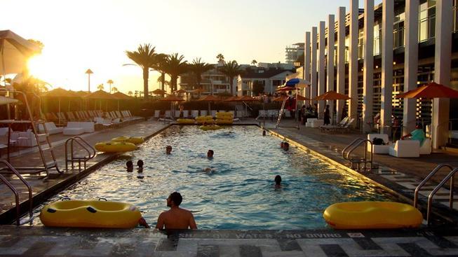A Pair of Spooky Swims to Splash in Santa Monica