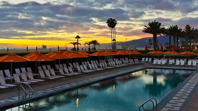 Santa Monica Soiree: Sunset Swim for Grown-Ups