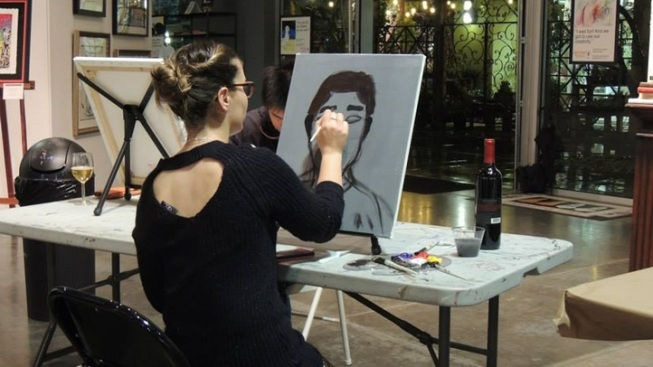 Costa Mesa Fun: Sip Wine, Paint, and Support Creativity