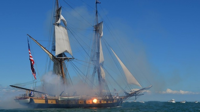 Weekend: Tall Ships, Cannon Battles, Rubber Ducks