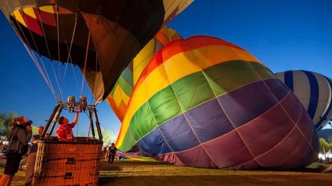 Lift Off at Temecula's Big Balloon Bash