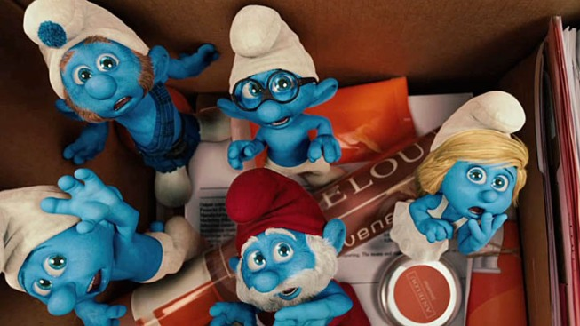 """Smurfs"" Neck and Neck with ""Cowboys & Aliens"" at Box Office"
