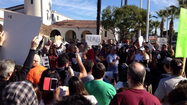 14 Arrested at Fullerton Rally for Kelly Thomas