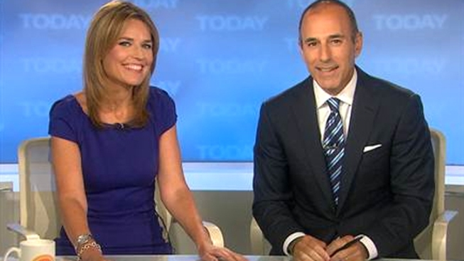 """Savannah Guthrie Welcomed as """"Today"""" Host"""
