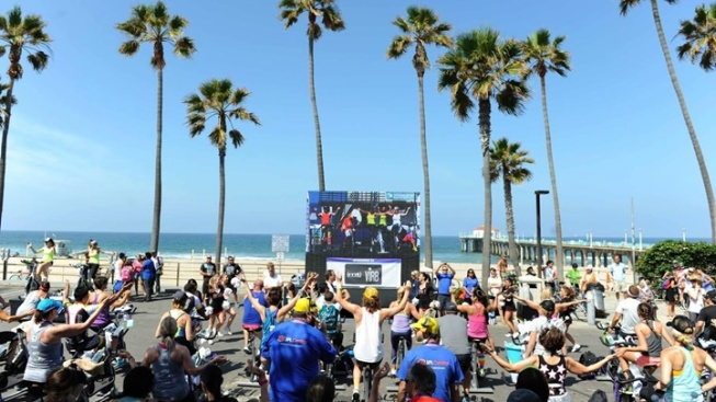 350 Stationary Bikes: Tour de Pier