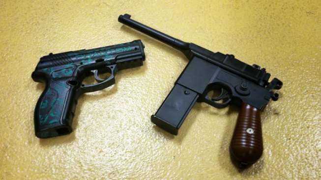 Students Suspended, Police Respond After Toy Guns Brought to Simi Valley School