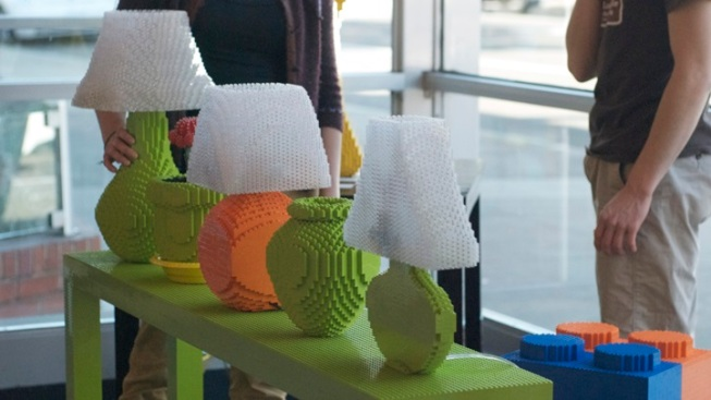 Lit Art: Recent UCLA Grad Displays LEGO Lamps