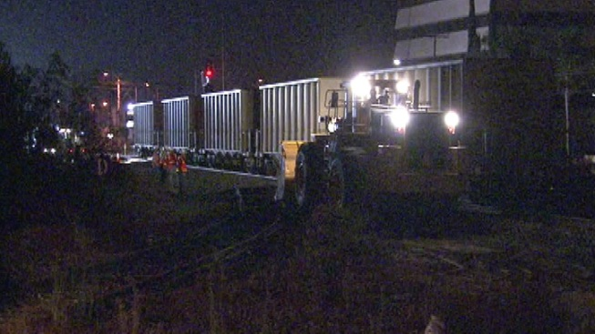 Few Delays After Union Pacific Train Derailment in Pacoima