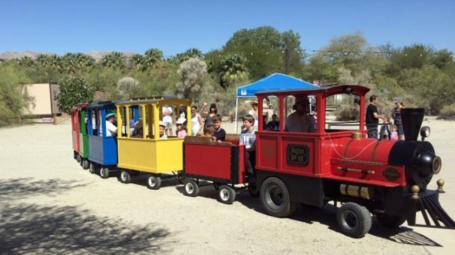 The Living Desert: Train Day