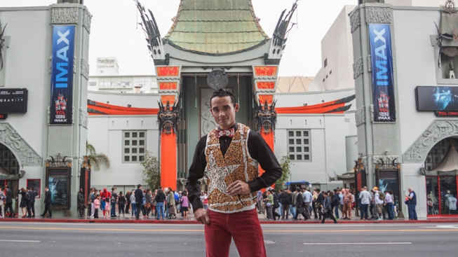Eco-Artist Creates Vest Out of Hundreds of Cigarettes Discarded in Hollywood