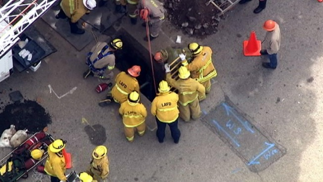 Worker Dies in Westwood Trench