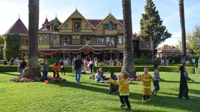 The Winchester Mystery House Has a Trick-or-Treat Trail