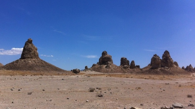 Mysterious Road Trip: Trona Pinnacles