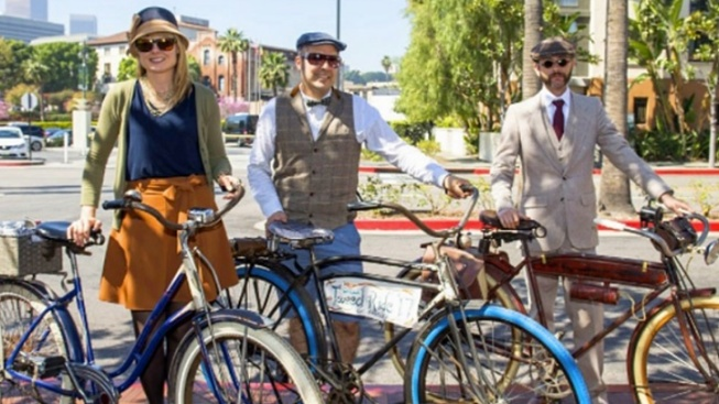 Free Tweed Bike Ride Spins Through Culver City
