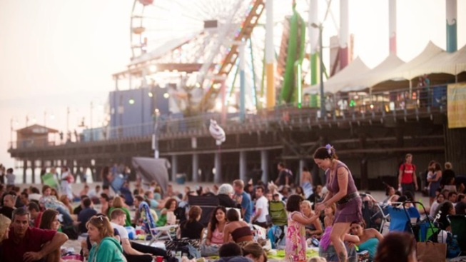 Free: Twilight Concerts at Santa Monica Pier