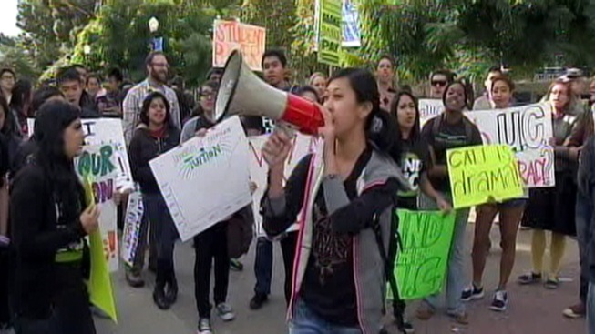 Students Protest Occupy Crackdown at UC Regents Meetings