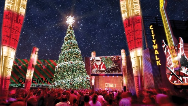 NBC4 & Universal CityWalk's Wishing Tree