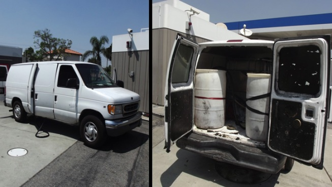 Fuel Thieves Siphon 300 Gallons From Underground Tanks Into Van: Police