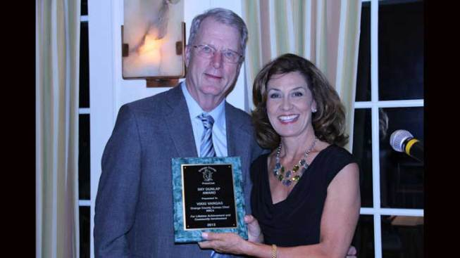 NBC4's Vikki Vargas Receives Top Honors from Orange County Press Club