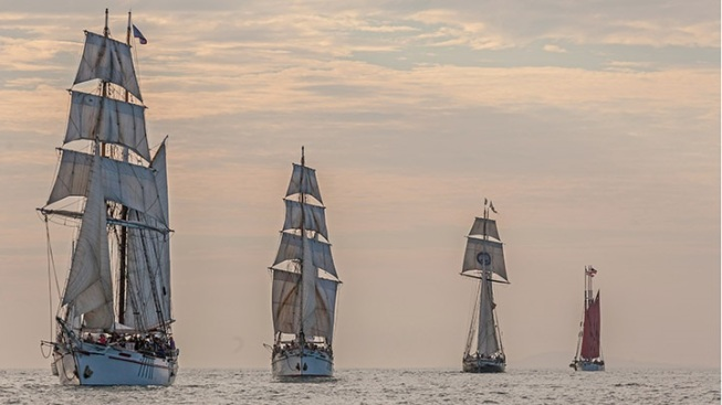 Tall Ships Festival Sails into Dana Point