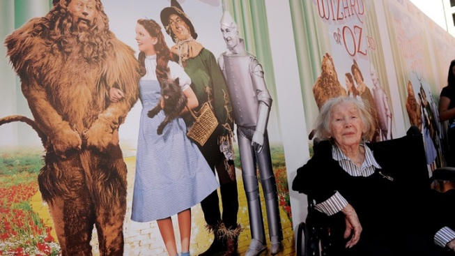 The Munchkin Town Lady Presides in Hollywood
