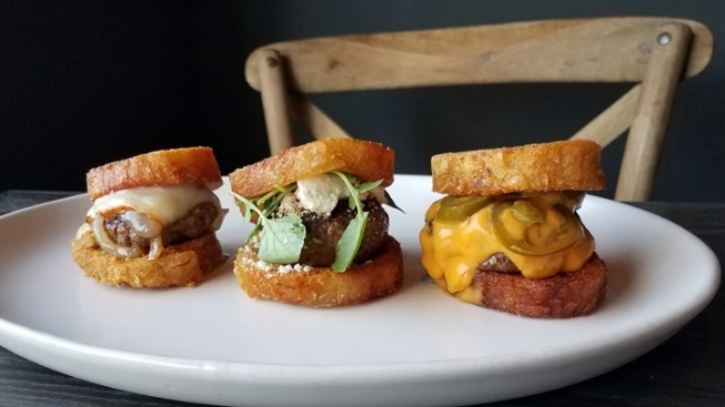 Crispy Potato Bun Burgers Debut at Wolf