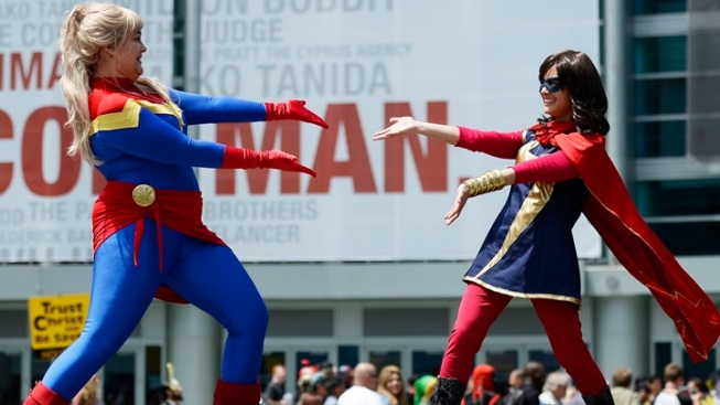Weekend: Power-up, SoCal Superheroes, for WonderCon