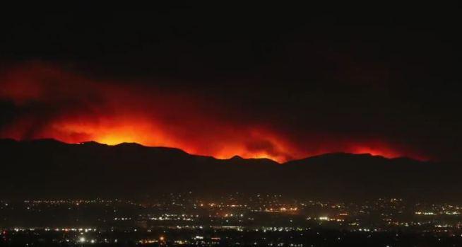 [NATL-LA] Time Lapse: Sand Fire Explodes