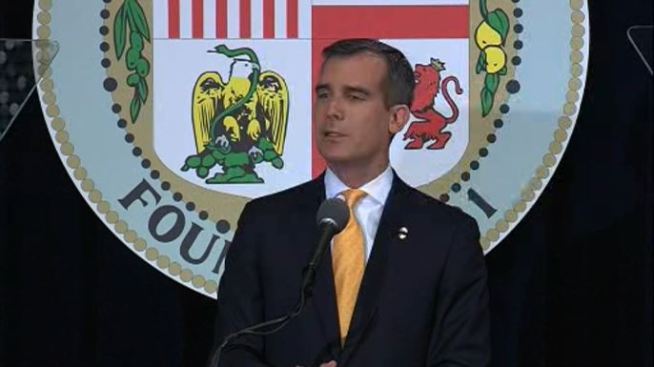 Garcetti Says 'Fund Our Schools' in State of City Speech Focused on Education