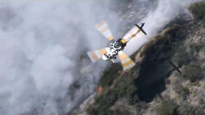 Portola Fire 60 Percent Contained