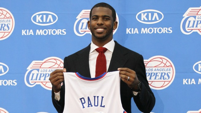 Chris Paul Reports to Clippers Practice