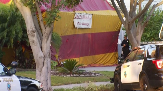 Suspected Burglars Arrested in Tented Home