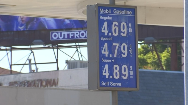 Gas Prices In California >> Southland Gas Prices Rise To Highest Amount Since 2015 Nbc